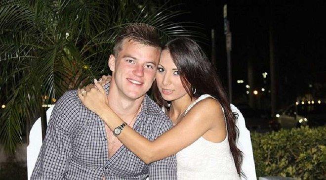 Андрей ярмоленко с женой фото