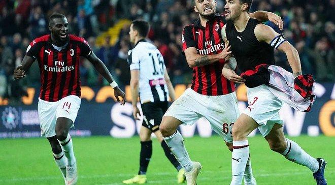 Удинезе – Милан – 0:1 – видео гола и обзор матча