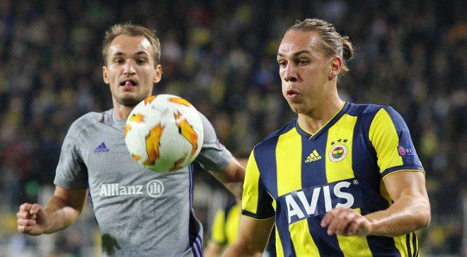 Фенербахче – Андерлехт – 2:0 – відео голів та огляд матчу