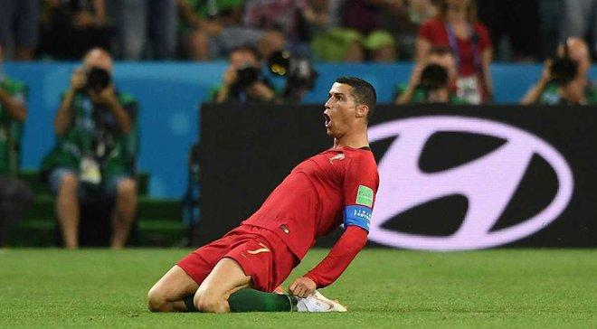 Подвиг Роналду став найпам'ятнішим моментом ЧС-2018 у Сочі за версією вболівальників