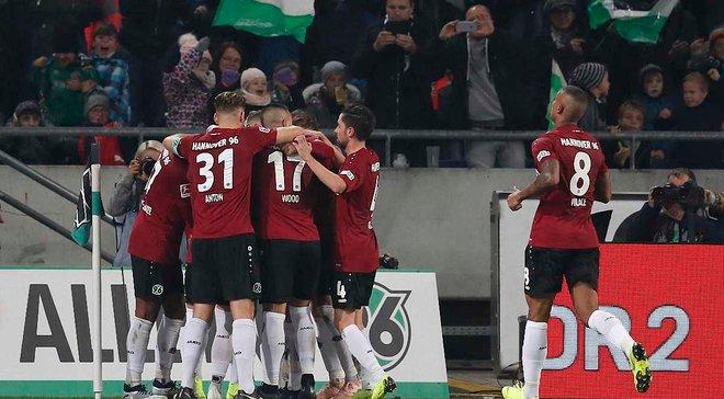 Ганновер – Вольфсбург – 2:1 – відео голів та огляд матчу