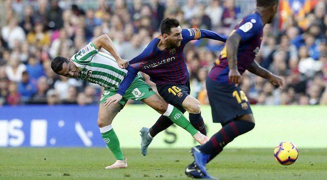 Барселона – Бетис – 3:4 – видео голов и обзор матча