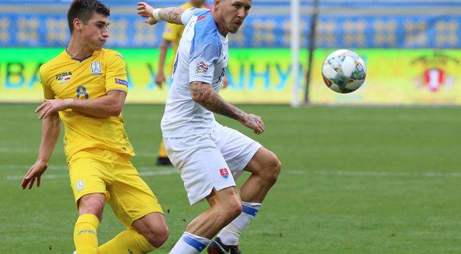 Словакия – Украина – 4:1 – видео голов и обзор матча