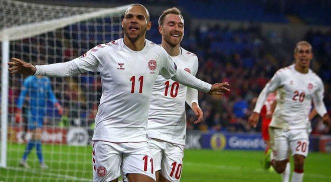 Уэльс – Дания – 1:2 – видео голов и обзор матча