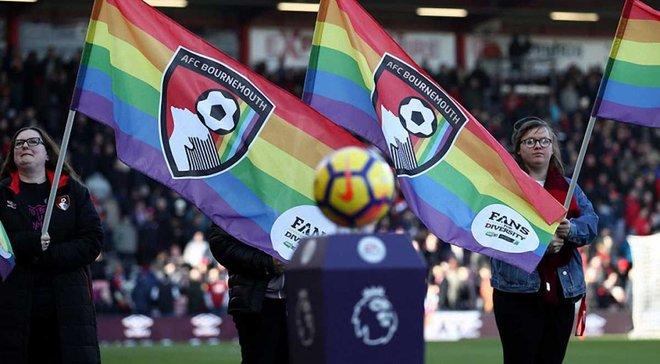 Англійські клуби візьмуть участь в акції на підтримку ЛГБТ