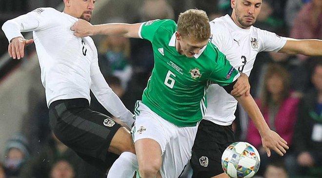 Северная Ирландия – Австрия – 1:2 – видео голов и обзор матча