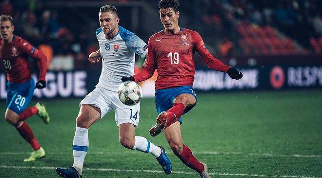 Чехія – Словаччина – 1:0 – відео гола та огляд матчу