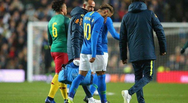 Неймар розповів про свою травму, отриману в матчі з Камеруном