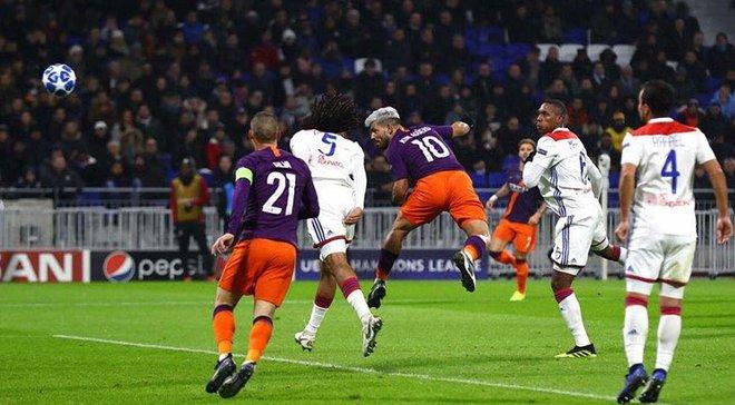 Ліон – Манчестер Сіті – 2:2 – відео голів та огляд матчу