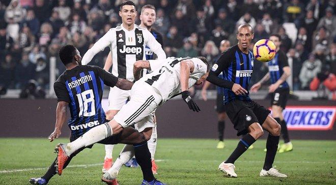 """Ювентус – Інтер: """"б'янконері""""– найсильніші в Італії, найгірший матч Ікарді та рекордна тренерська поразка Спаллетті"""