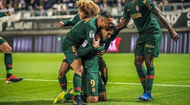 Лига 1: Монако наконец-то покинуло зону вылета, Лилль прервал 4-матчевую безвыигрышную серию и вышел на второе место