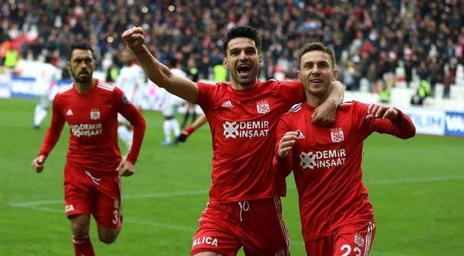Рыбалка забил дебютный гол за Сивасспор в сезоне и помог команде обыграть Гезтепе
