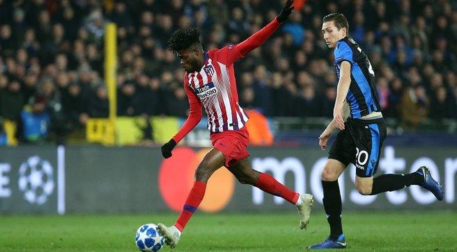 Брюгге – Атлетико – 0:0 – видеообзор матча