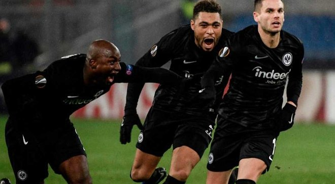Айнтрахт стал первой немецкой командой, которая выиграла все 6 матчей в групповом раунде еврокубков