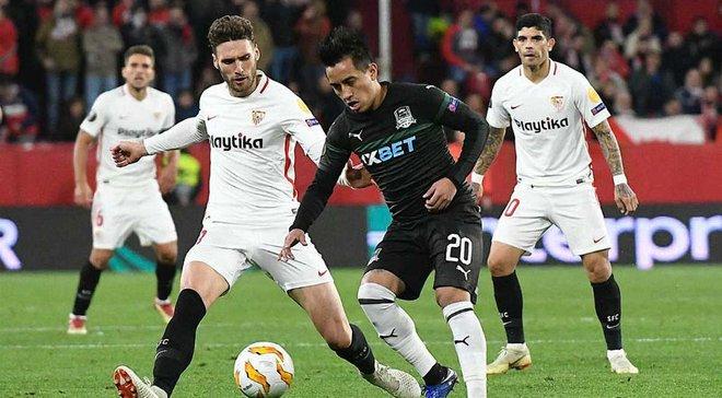 Севилья – Краснодар – 3:0 – видео голов и обзор матча