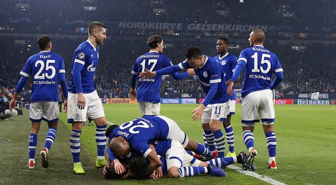 Футбол аугсбург шальке