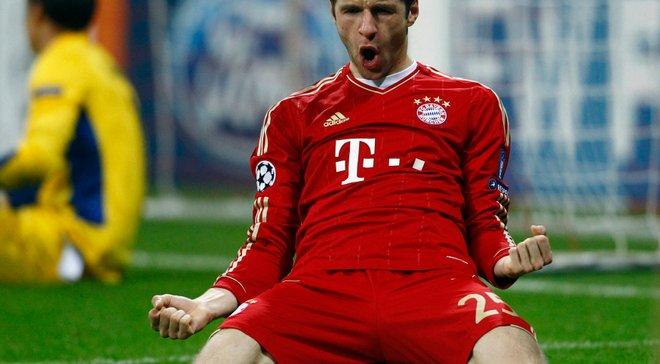Мюллер провел 300-й матч в составе Баварии в Бундеслиге