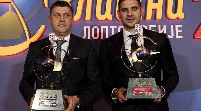 Суперник збірної України Мітровіч визнаний найкращим гравцем року в Сербії