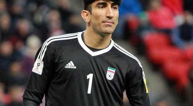 Динамо возобновило интерес к голкиперу сборной Ирана Бейранванда