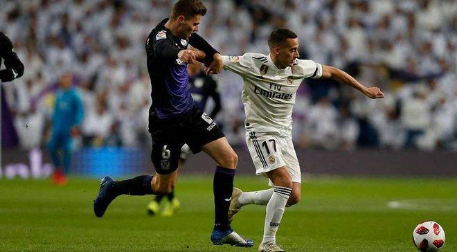 Реал розгромив Леганес без Луніна в 1/8 фіналу Кубка Іспанії