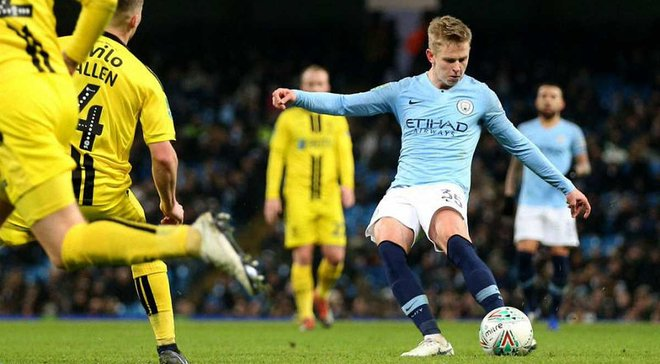 Главные новости футбола 9 января: Зинченко забил классный дебютный гол за Манчестер Сити, Грозный покинул Арсенал-Киев