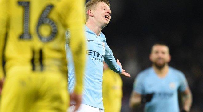 Зинченко – о дебютном голе за Манчестер Сити: Побольше уважения, пожалуйста