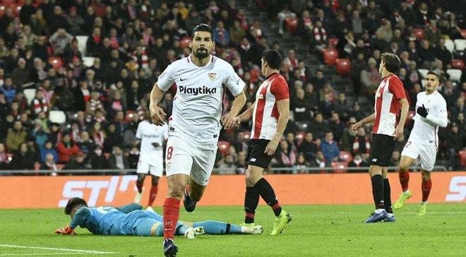 Кубок Испании: Севилья на выезде одолела Атлетик, Бетис и Реал Сосьедад сыграли вничью