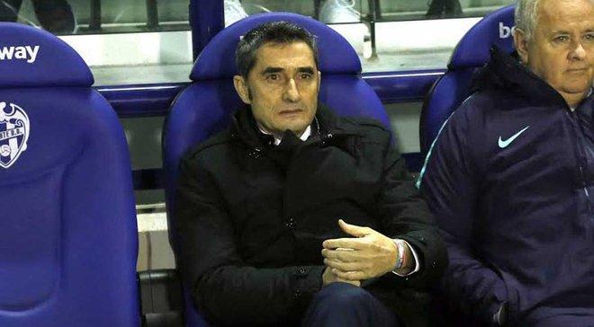 Вальверде пояснив, чому Коутінью втратив місце в основному складі Барселони