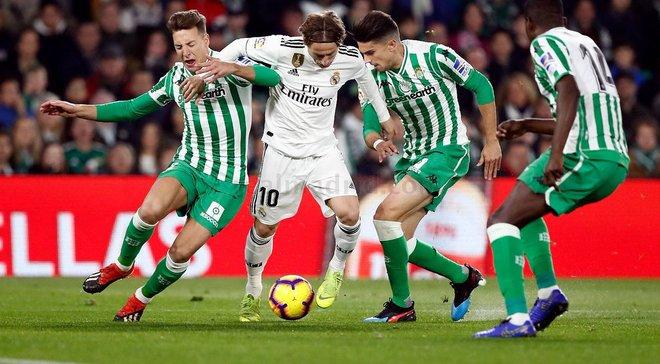 Бетіс – Реал – 1:2 – відео голів та огляд матчу