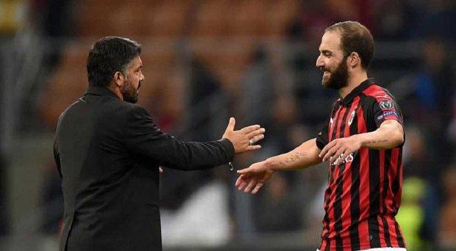 Гаттузо не хочет отпускать Игуаина из Милана