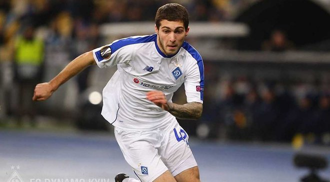 Цитаишвили: Хотелось бы больше играть в основном составе Динамо