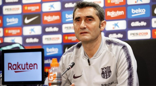 Вальверде намекнул, что Барселона попытается подписать нового нападающего