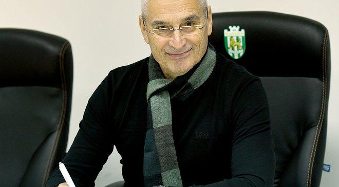 Фабрісіано Гонсалес став новим головним тренером Карпат