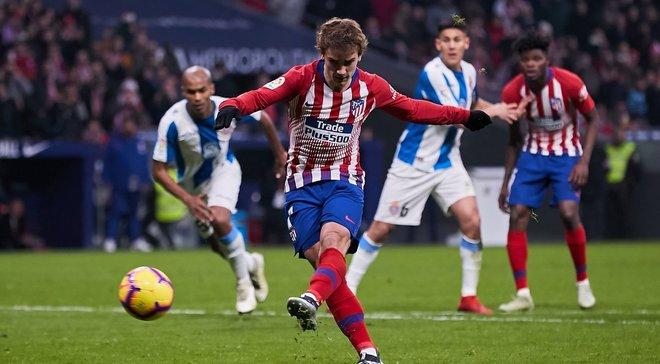 Грізманн забив за Атлетіко у 5-й грі поспіль – відеоогляд матчу з Леванте