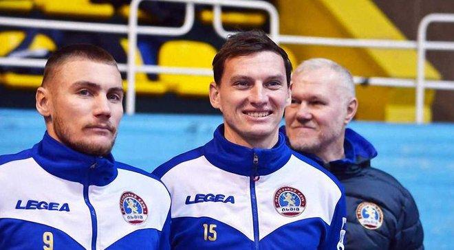 Насонов тренируется вместе с ФК Львов