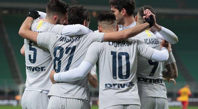 Интер – Беневенто – 6:2 – видео голов и обзор матча