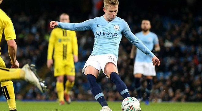 Зинченко заявил о желании остаться в Манчестер Сити