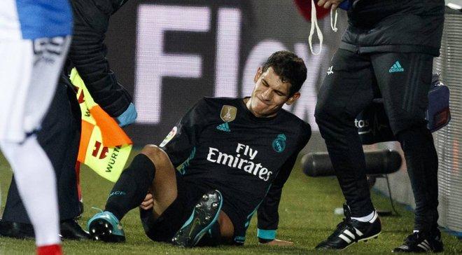 Вальєхо отримав пошкодження на тренуванні – епідемія травм у Реалі триває