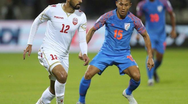 Кубок Азії: Бахрейн на останніх хвилинах здолав Індію,  ОАЕ розійшлись миром з Таїландом