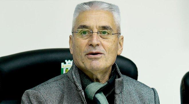 Фабри прокомментировал свое назначение на пост главного тренера Карпат