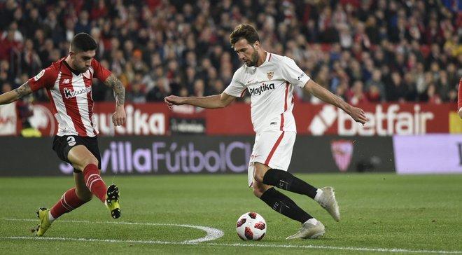 Севилья проиграла Атлетику, но вышла в следующий раунд Кубка Испании
