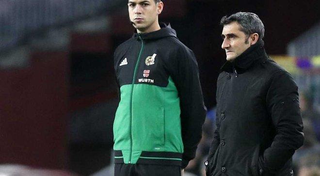 Вальверде: Барселона чудово знала, що Чумі був дискваліфікований