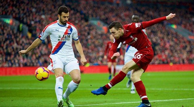 Ліверпуль у гольовій перестрілці переміг Крістал Пелас, Манчестер Юнайтед вдома здолав Брайтон: 23 тур АПЛ, матчі суботи