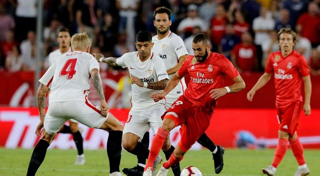 Реал Мадрид – Севилья: прямая трансляция