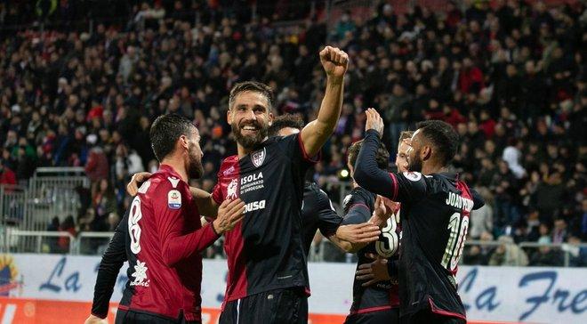 Кальярі на останніх хвилинах вирвав нічию з Емполі: 20-й тур Серії А, матчі неділі