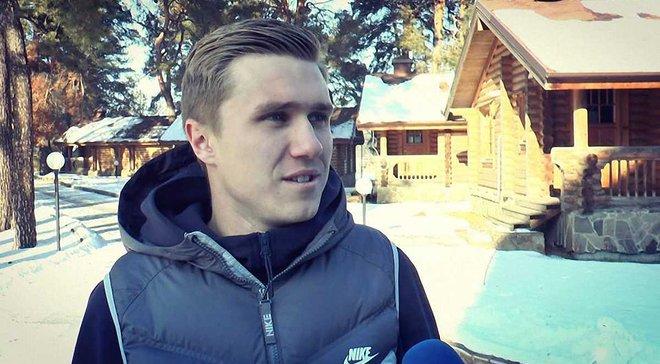 Кузык: Главное – стать основным игроком СК Днепр-1 и выйти в УПЛ