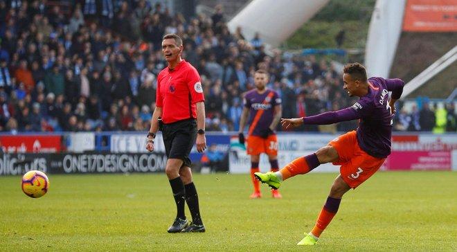 Конкурент Зинченко Данило и рикошет обеспечили 100-й мяч Манчестер Сити в сезоне – лучший показатель в топ-5 чемпионатов