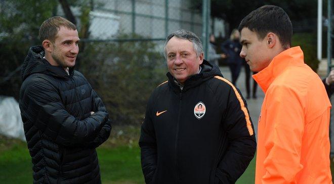 Кучер посетил тренировку Шахтера в Турции