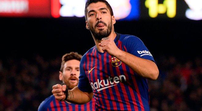 Суарес забив щонайменше 15 голів у національному чемпіонаті протягом останніх 7 сезонів