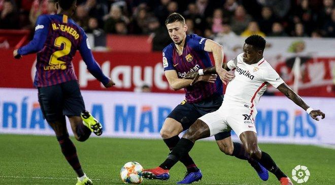 Севилья – Барселона – 2:0 – видео голов и обзор матча